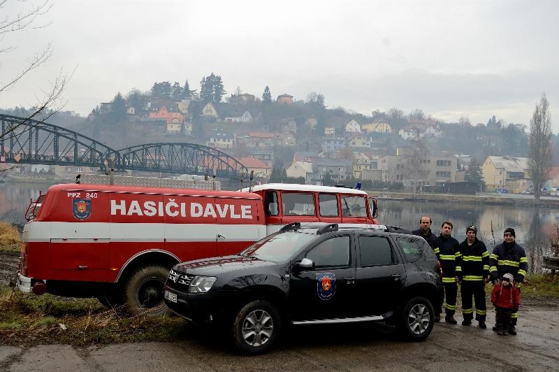 Dacia Duster a SDH Davle