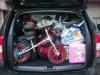 Výbava na dovolenou v kufru Dacia Duster
