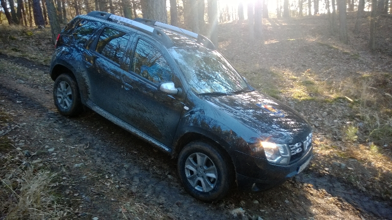 Sjezd Dacia Duster